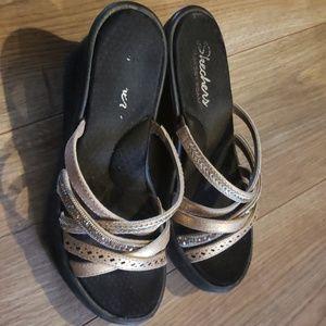 Sketchers wedge sandals